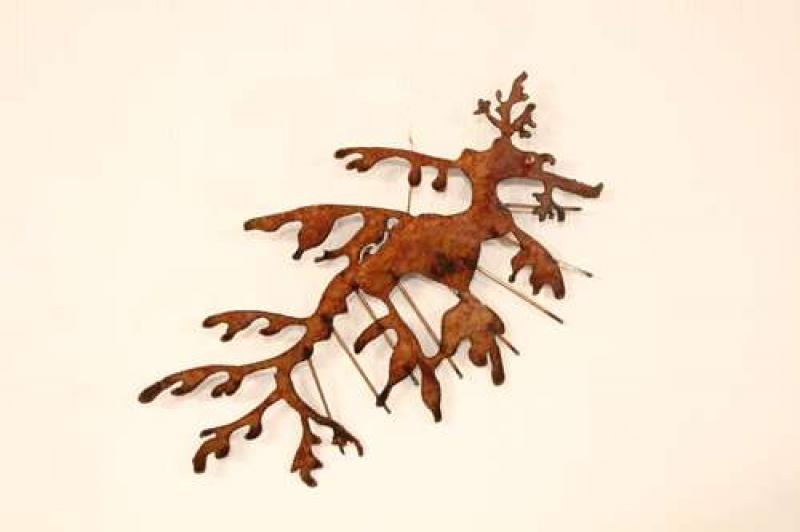 LEAFY SEA DRAGON SMALL RUSTED