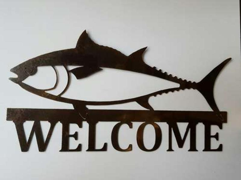 TUNA WELCOME RUSTED